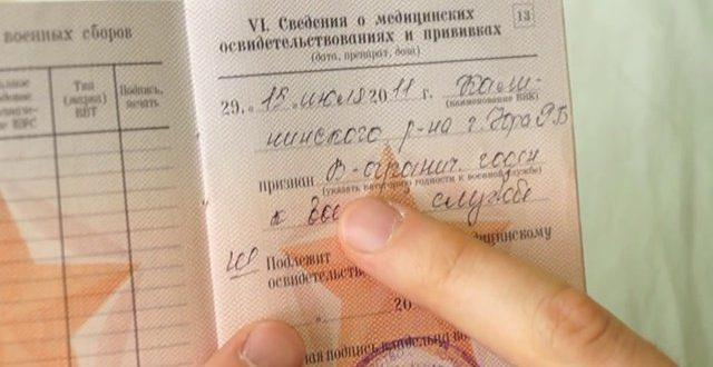 Что значит статья 7б в военном билете