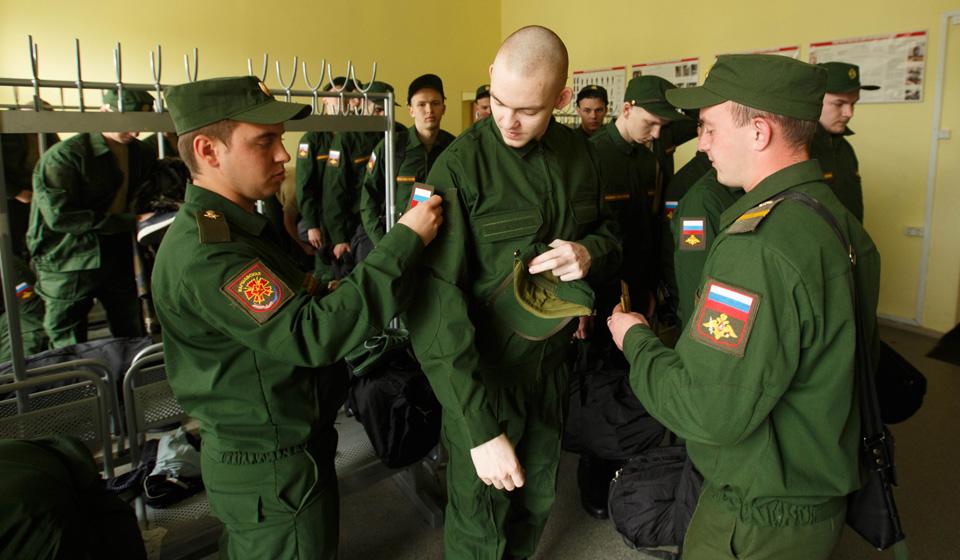 Новобранцы в армии
