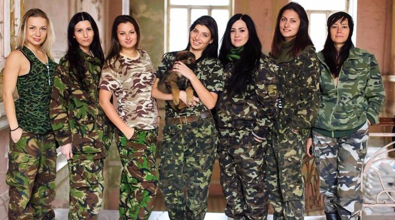 Права женщин в рядах армии
