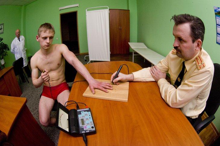 уклонение от медицинского обследования военкомат