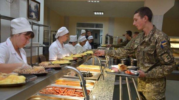 Еда в армии других стран