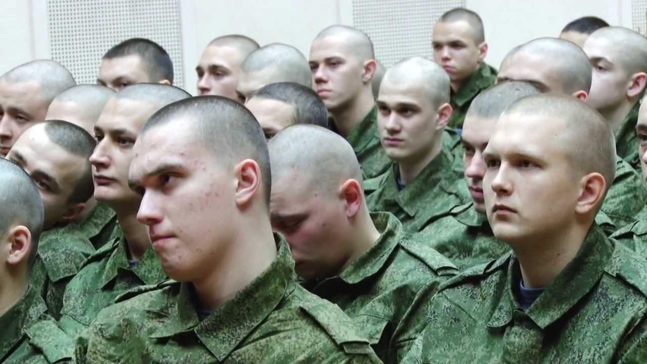 Лысые солдаты