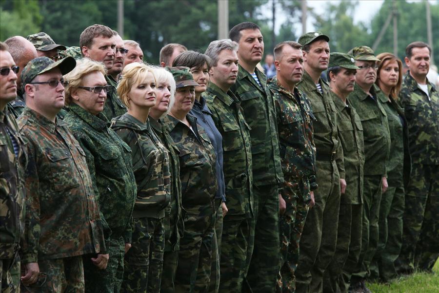 Сбор военных