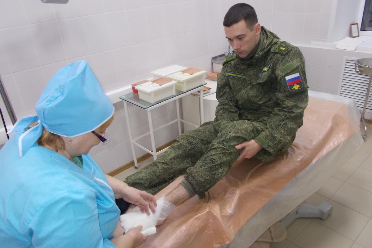 медицинское обеспечение военнослужащих