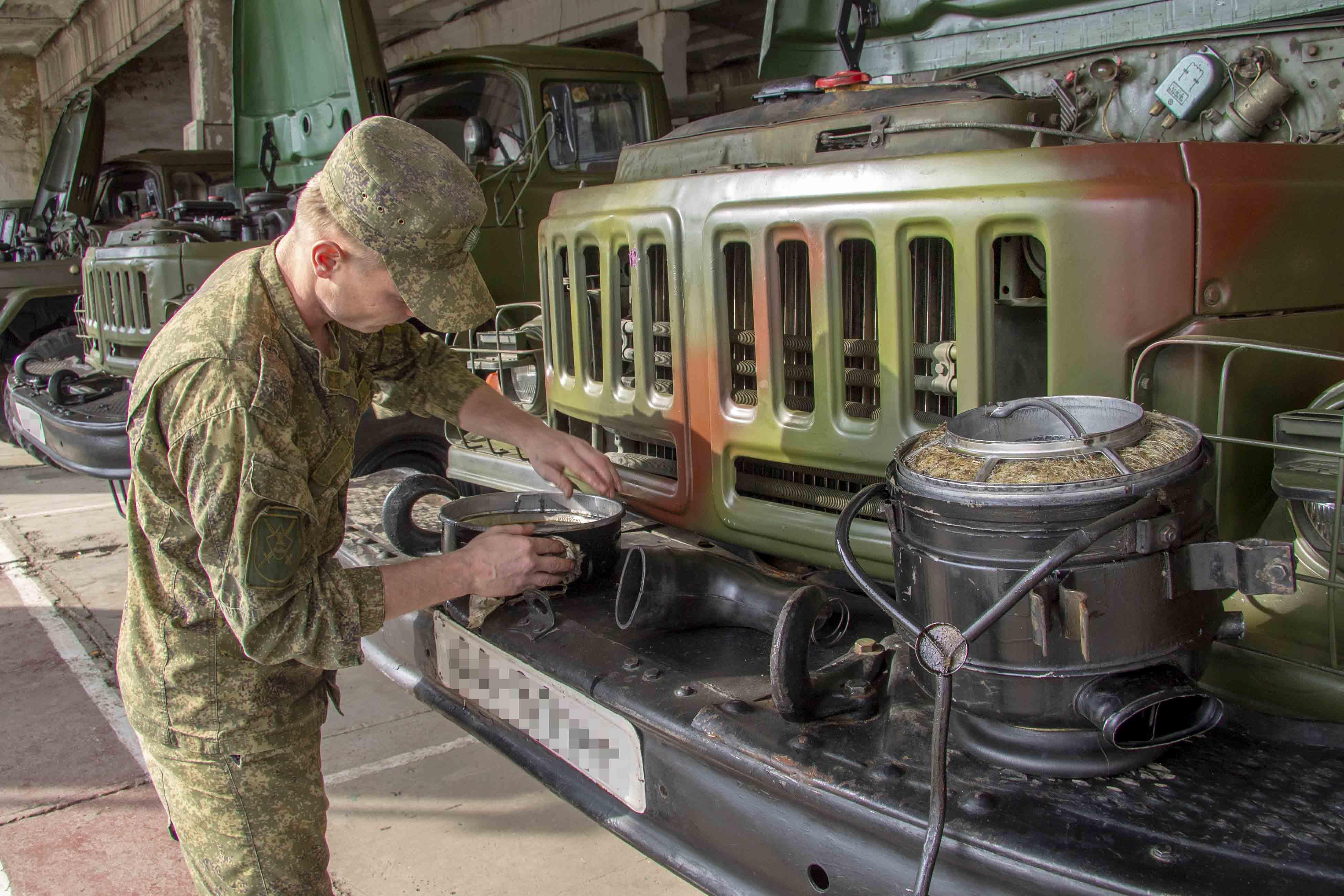 Ремонт техники в армии