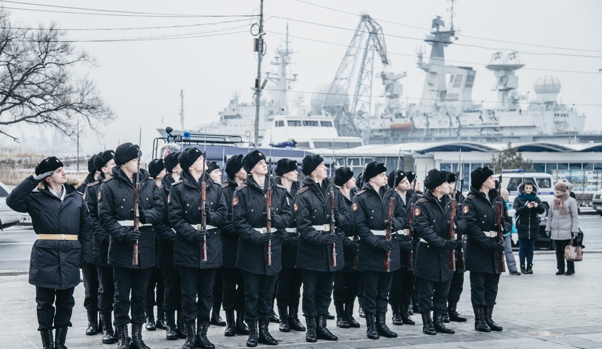 Служба в ВМФ