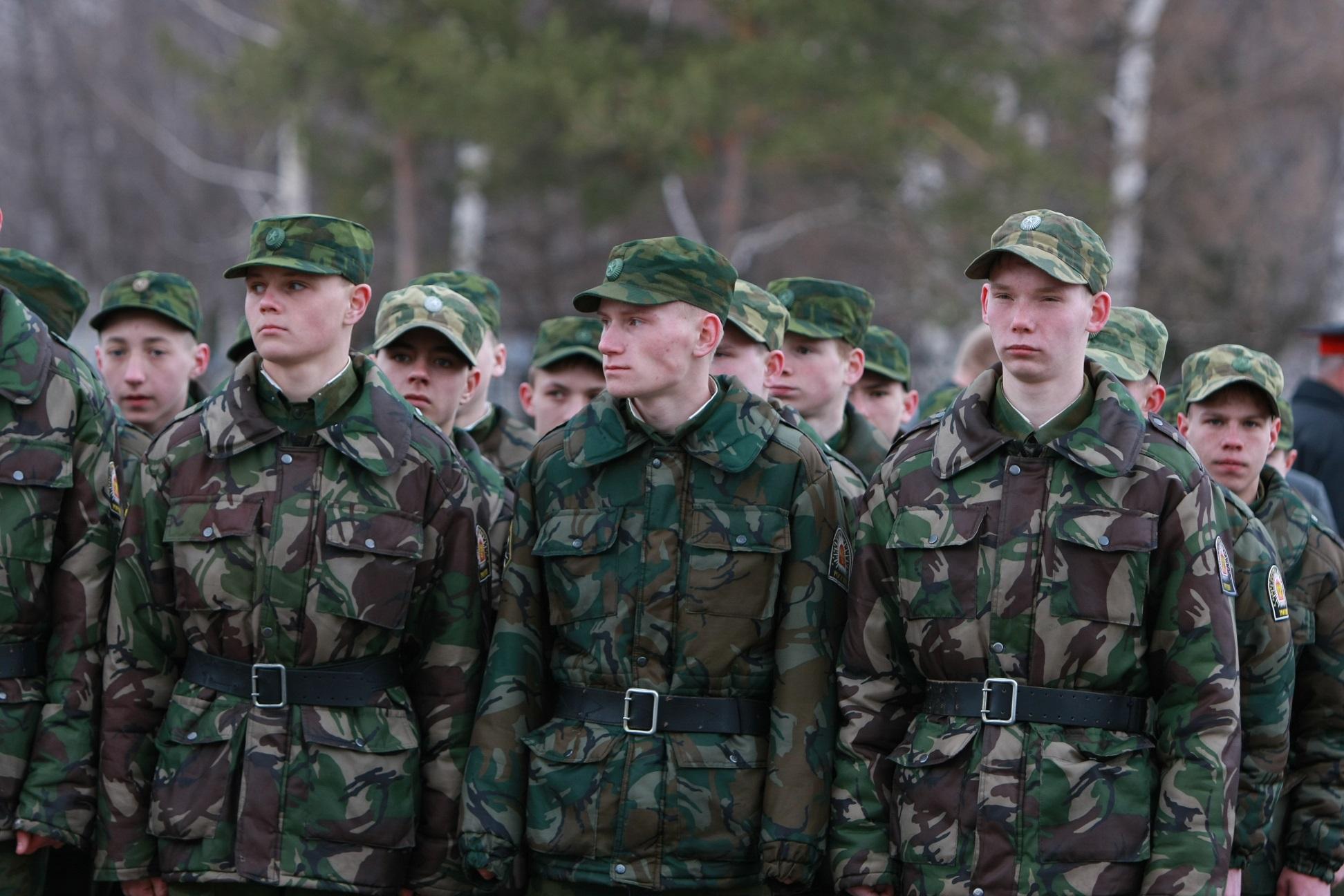 Срочники в армии