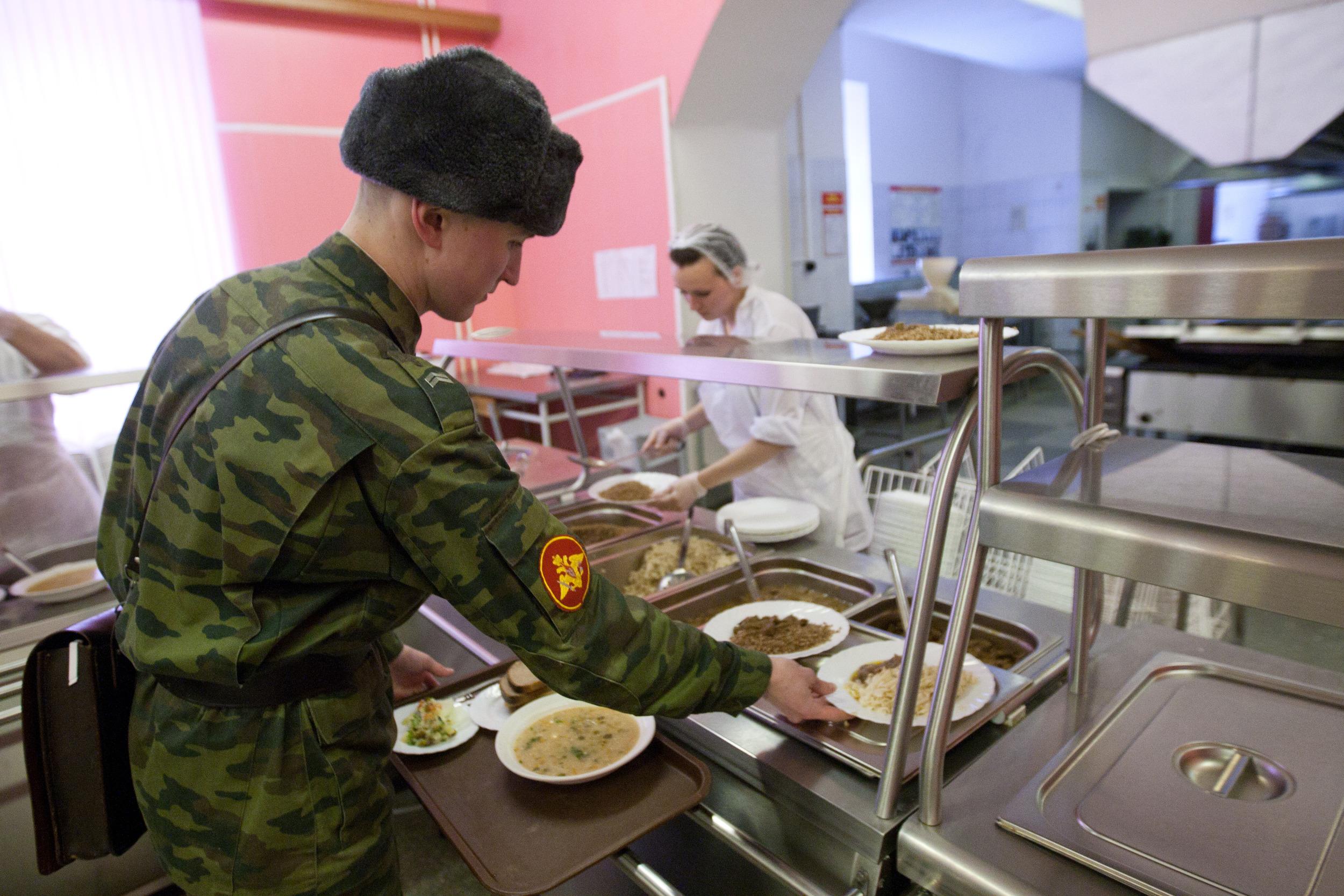 Завтрак в армии