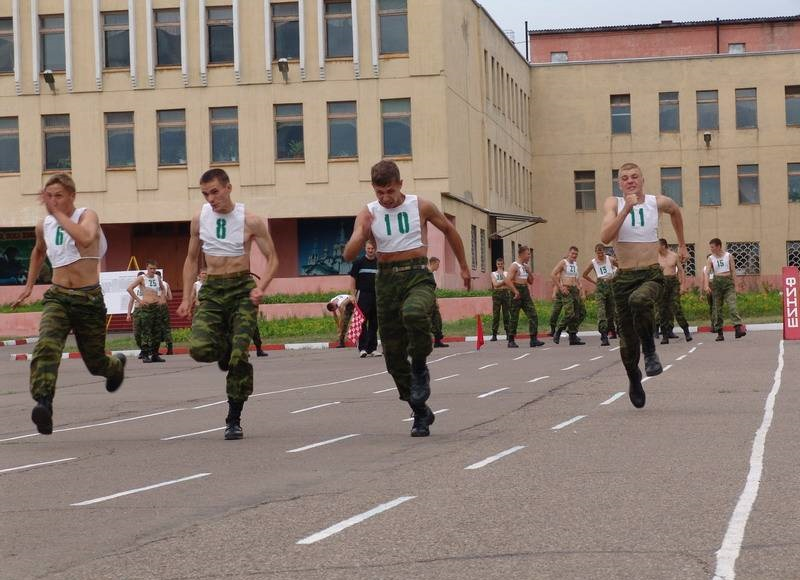 Сдача нормативов ФИЗО в армии