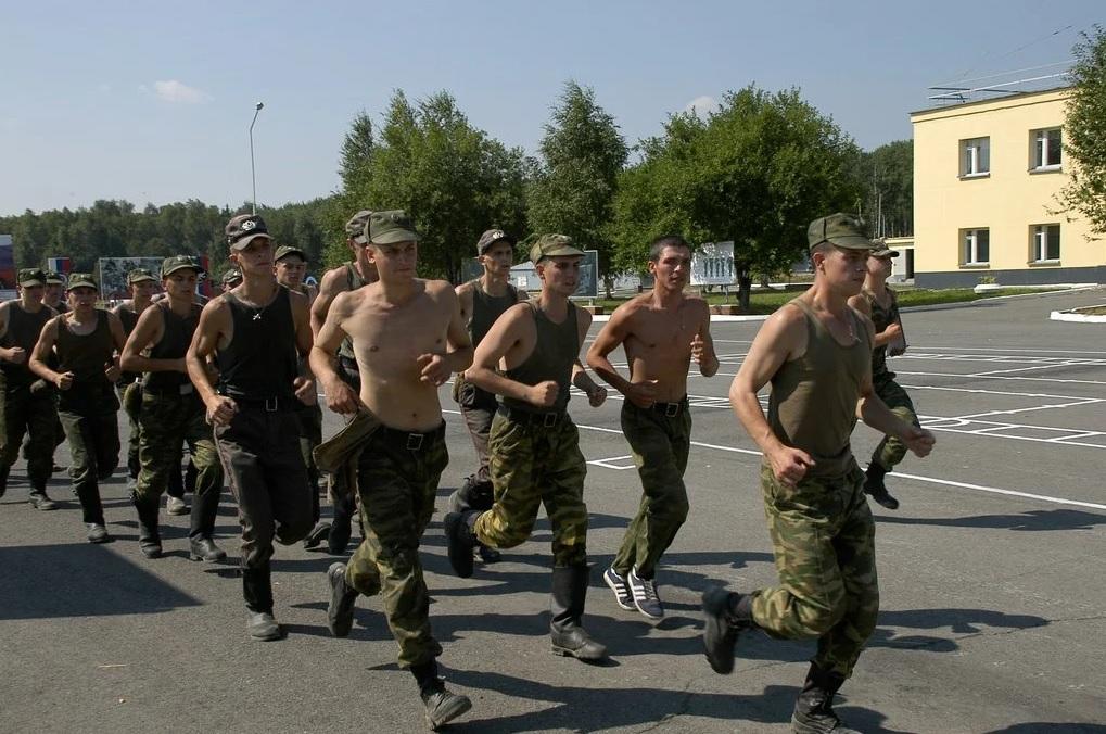 Пробежка в армии