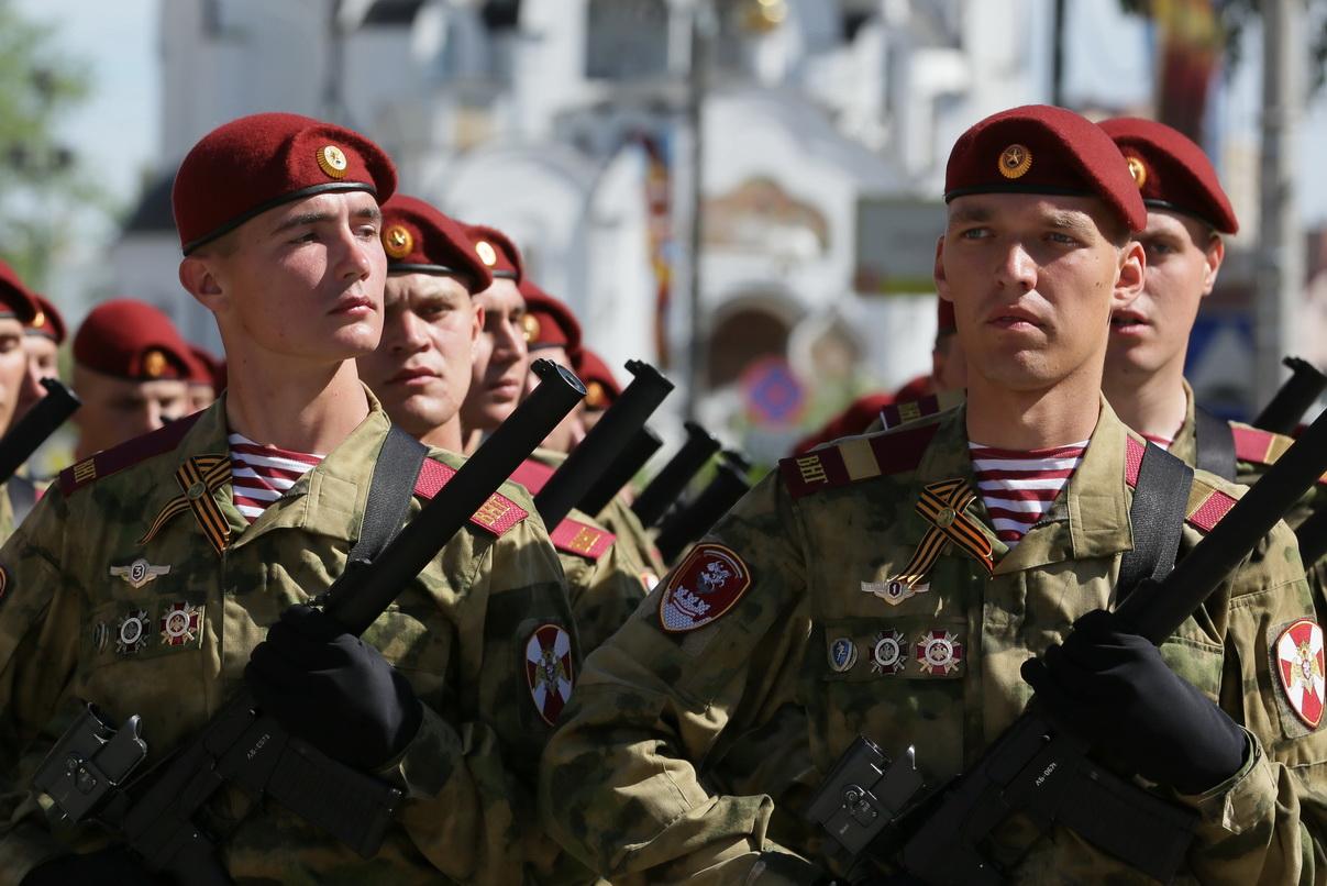 Солдаты росгвардии
