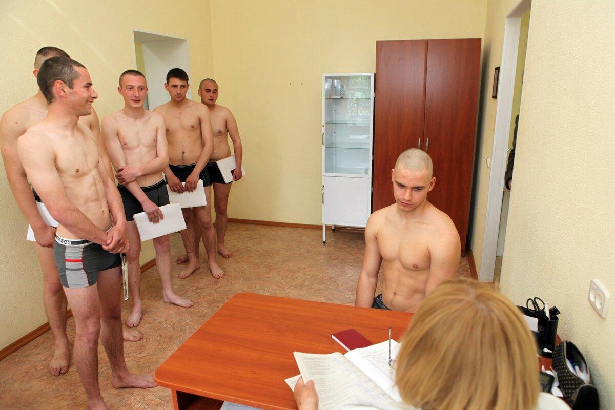 Обследование в военкомате