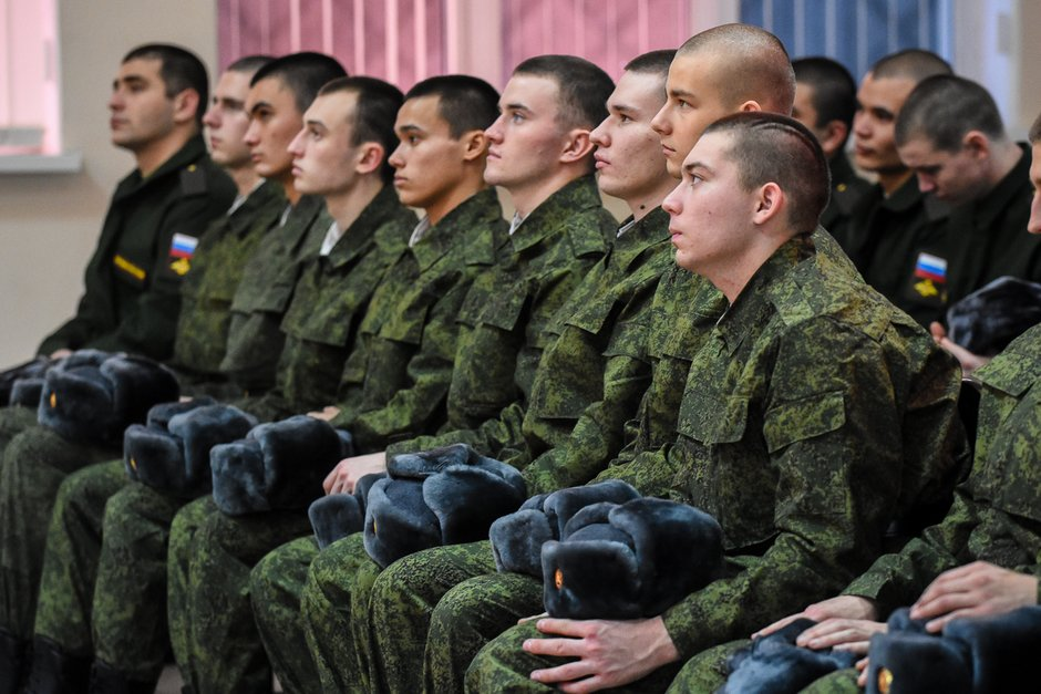 Солдаты срочники
