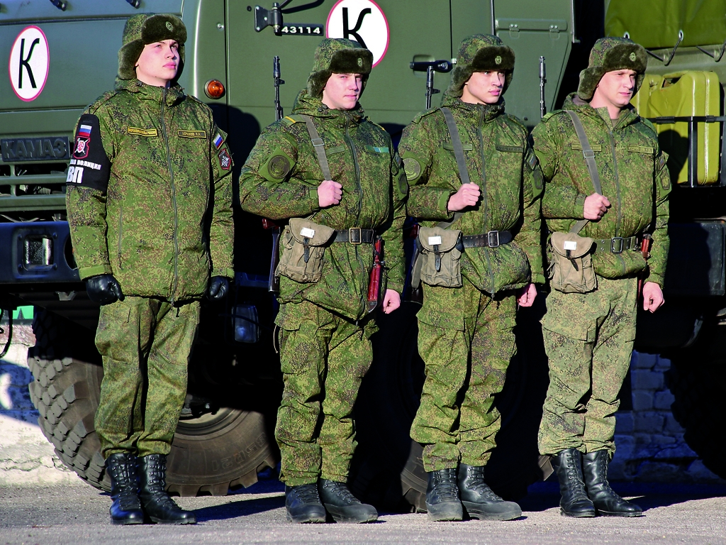 Солдаты на дежурстве
