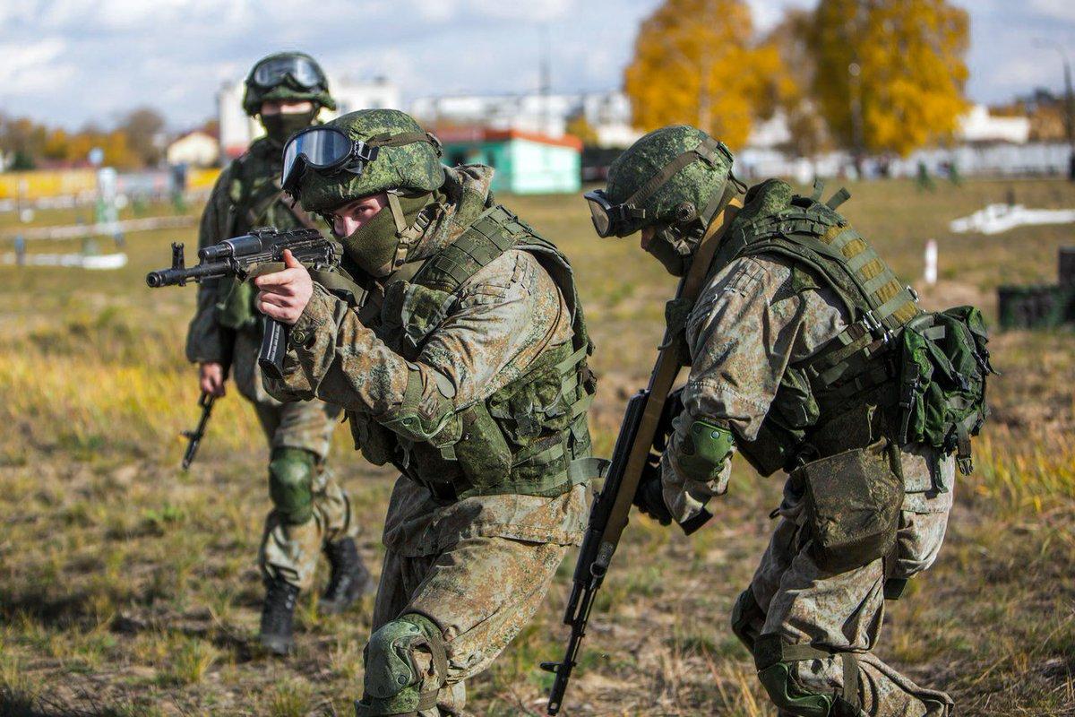 Солдаты специального назначения
