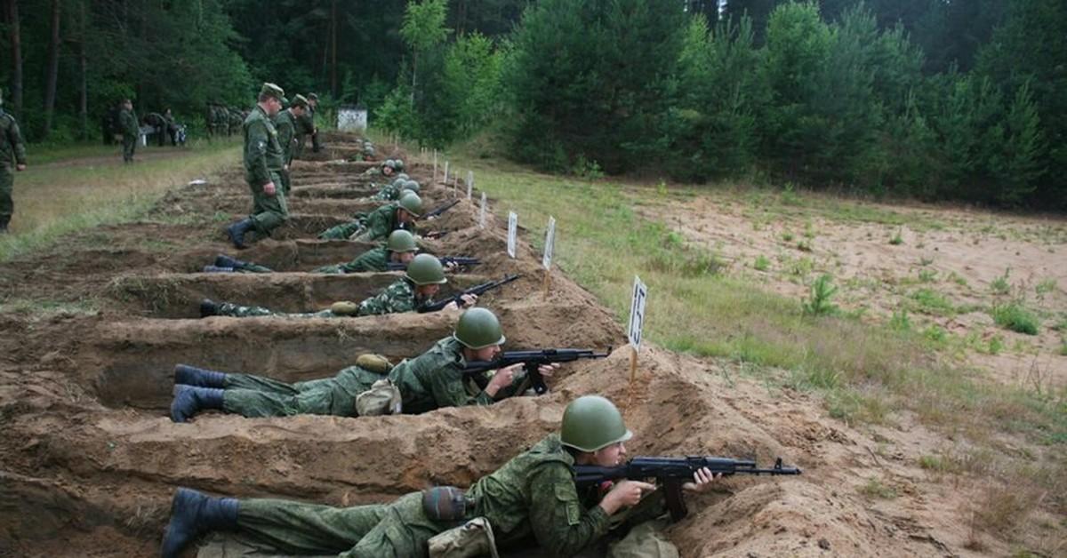 Стрельбы на полигоне