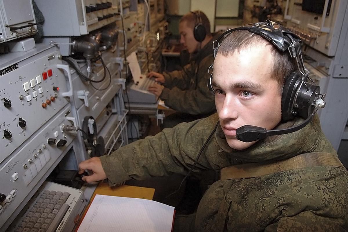 Связисты в армии