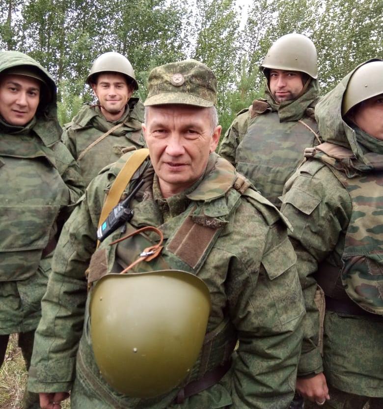 Военный в возрасте