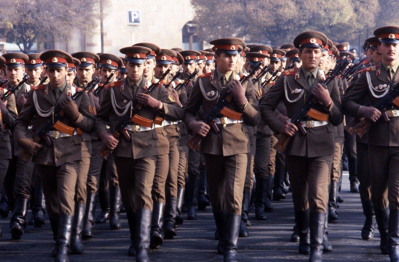 Армия позднего СССР