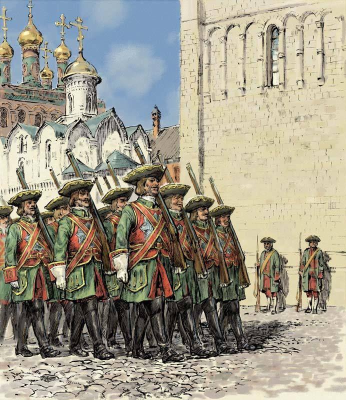 Армия при Екатерине Второй