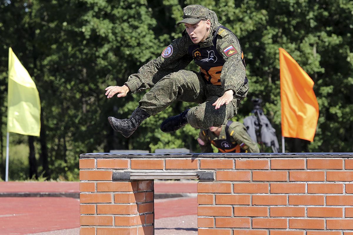 Физподготовка военнослужащих