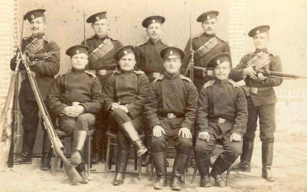 Фото солдат императорской армии