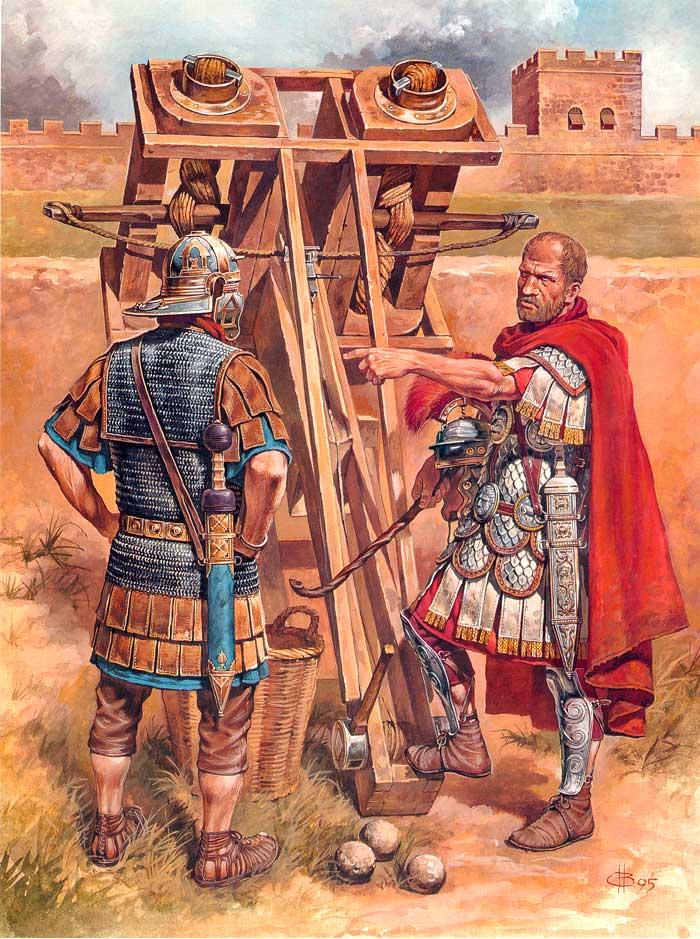Инженеры римского легиона