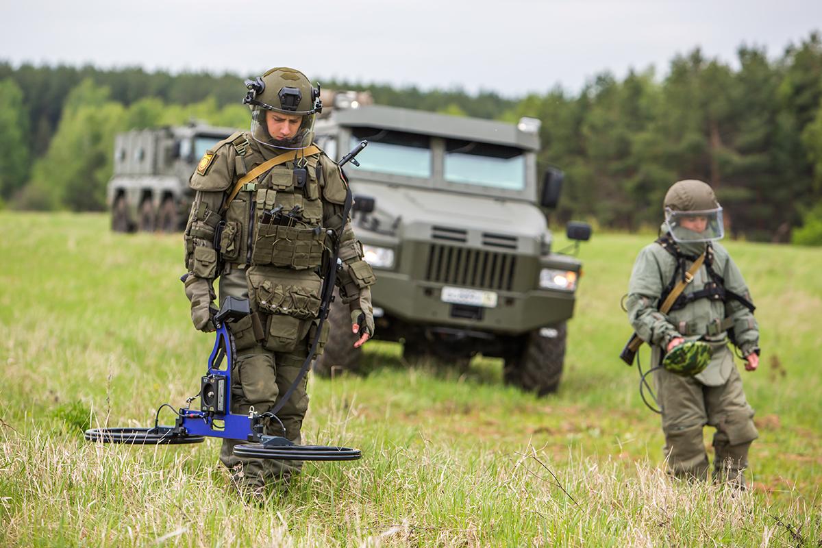Саперы армии РФ
