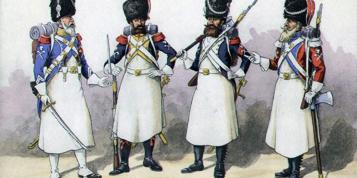 Саперы французской армии