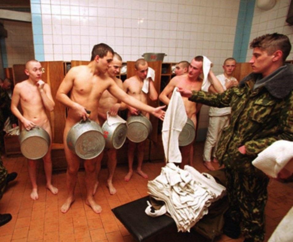 Армейская баня