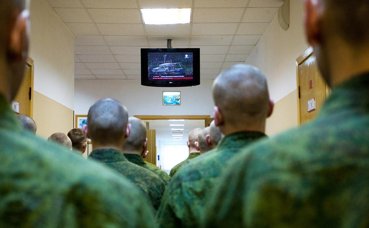 Просмотр ТВ в армии