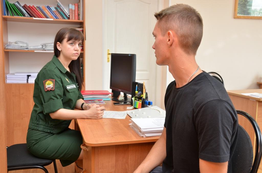 Тестирование в военкомате