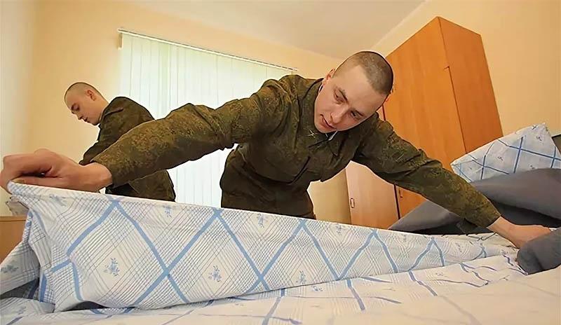 Заправка кровати