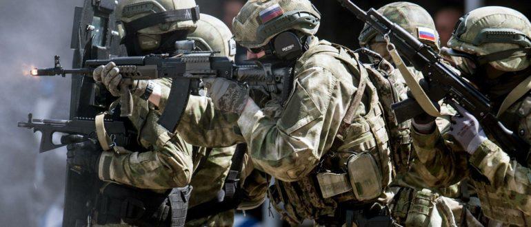 Бойцы спецназа РФ