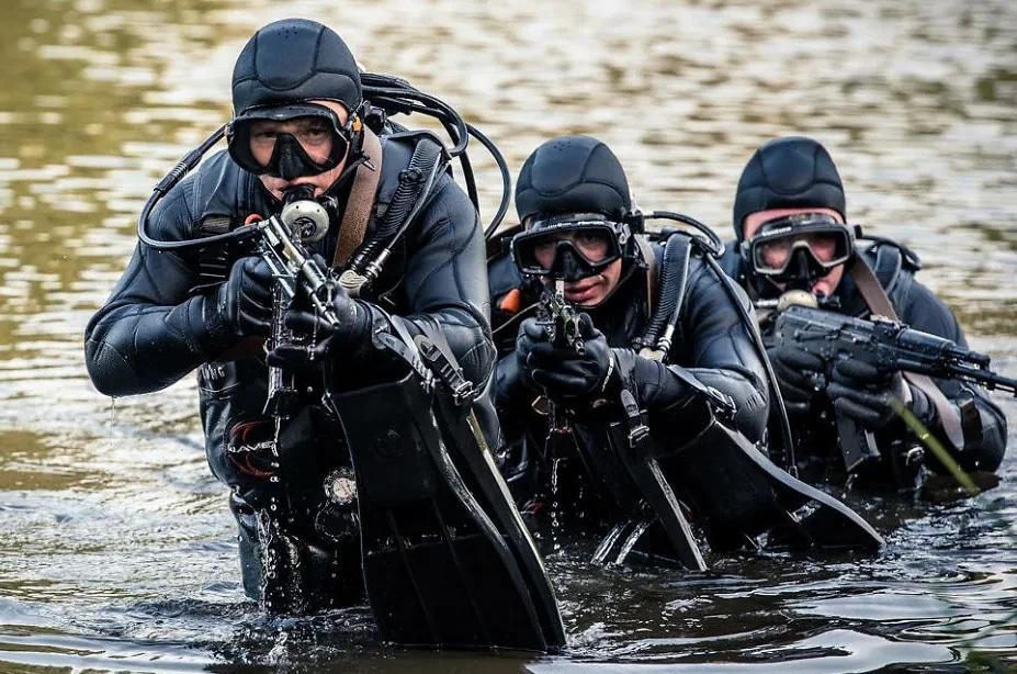 Военные водолазы
