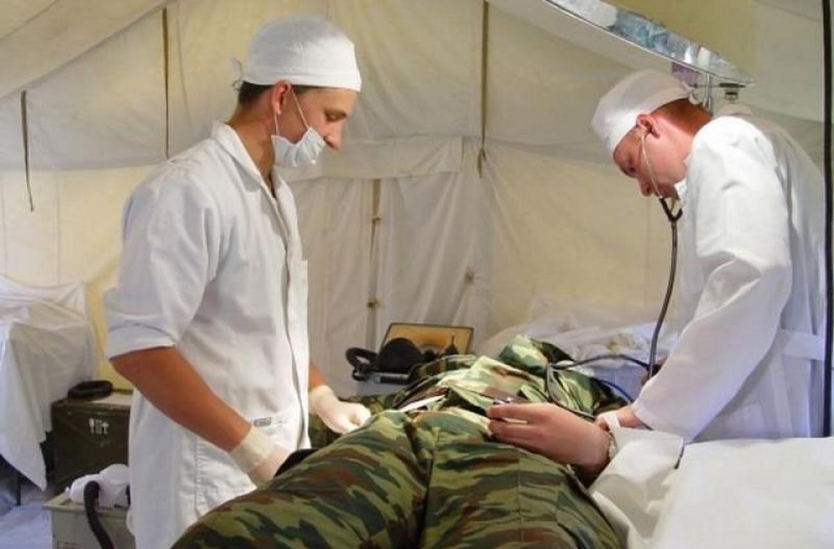 Военный в госпитале